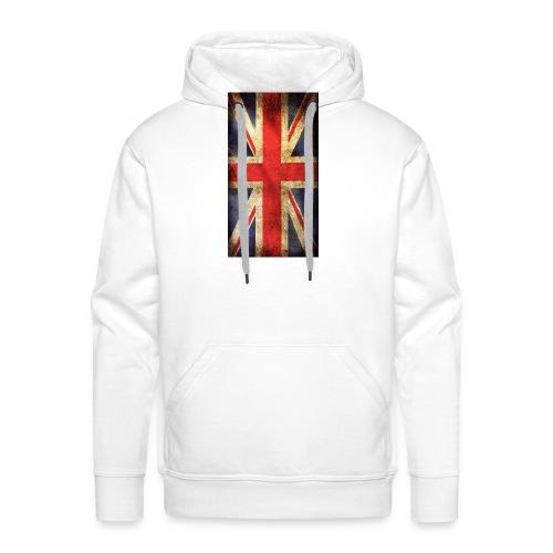 English Flag jpg - Premiumluvtröja herr