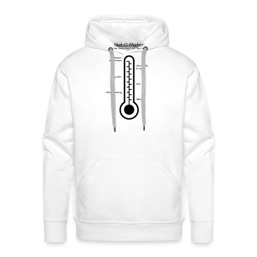 shit_o_meter - Männer Premium Hoodie