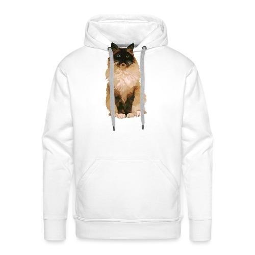 Ragdoll-Katze 1 - Männer Premium Hoodie