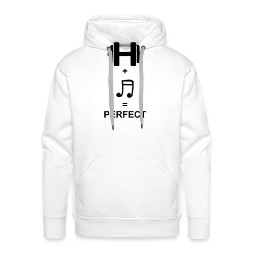 Sport und Musik ist Perfekt - Männer Premium Hoodie