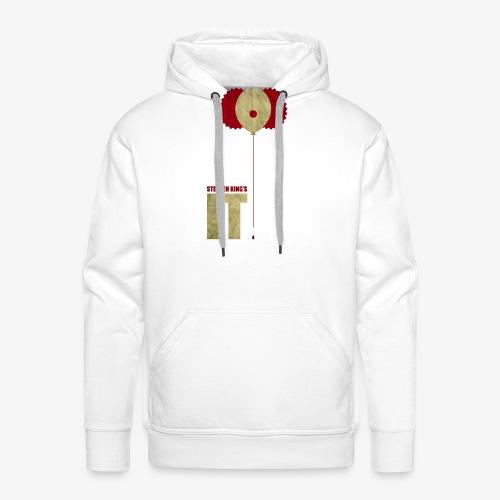 IT - Sudadera con capucha premium para hombre