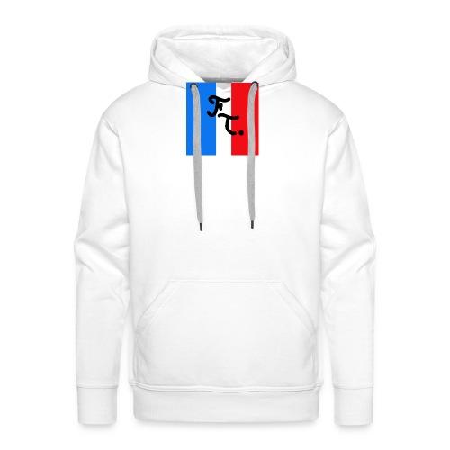 French togs logo - Sweat-shirt à capuche Premium pour hommes