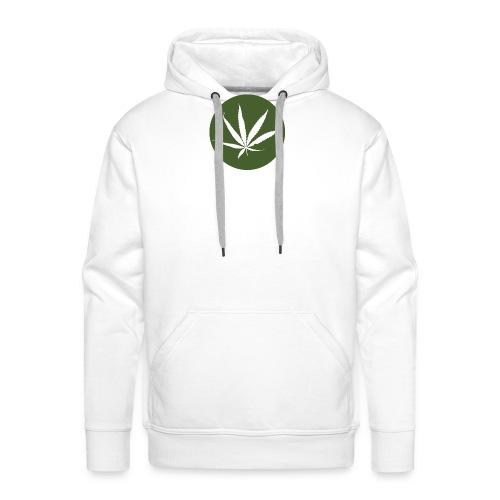 weedlogo - Mannen Premium hoodie