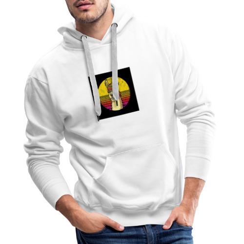 LLAMA - Sudadera con capucha premium para hombre