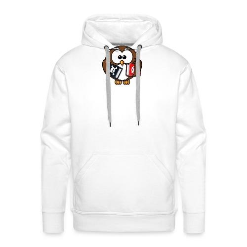 Lerning Owl - Männer Premium Hoodie