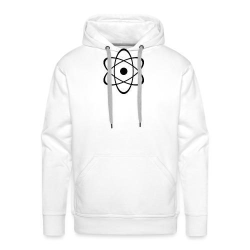 Atomic nucleus - Sudadera con capucha premium para hombre