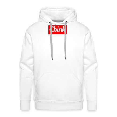 Chink Box Logo - Men's Premium Hoodie