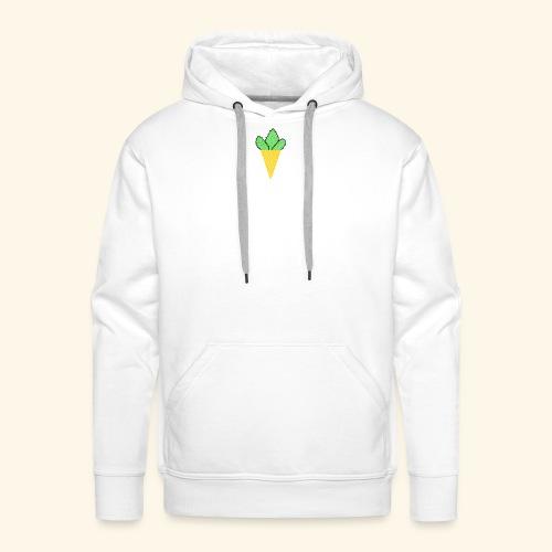 glace weed - Sweat-shirt à capuche Premium pour hommes