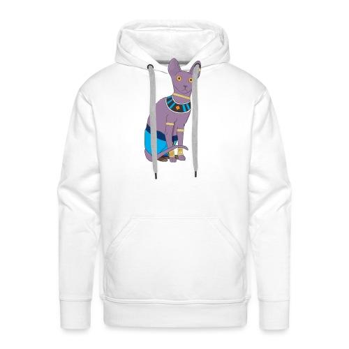 Sphynx cat - Sweat-shirt à capuche Premium pour hommes