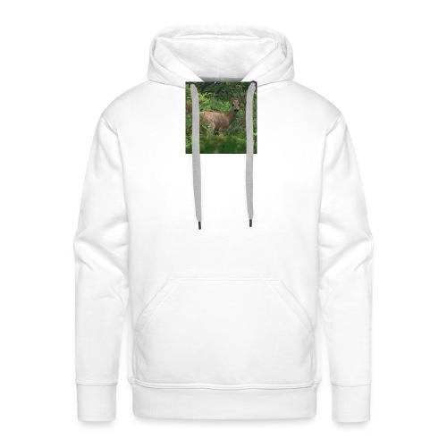 corza - Sudadera con capucha premium para hombre