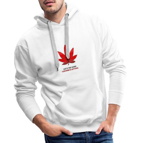Let´s try some Lucifer´s Lettuce - Männer Premium Hoodie