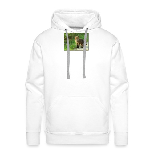 vossen shirt kind - Mannen Premium hoodie