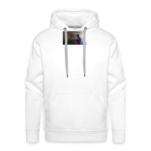 Shaka saxo - Sweat-shirt à capuche Premium pour hommes