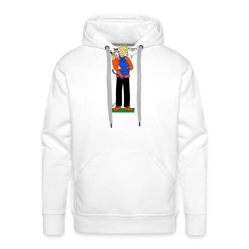 Khris-Léo et ses chats - Sweat-shirt à capuche Premium pour hommes