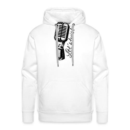 Mikrofon - Männer Premium Hoodie