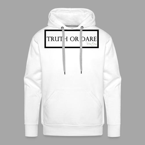 Western Truth or Dare Tee - Men's Premium Hoodie