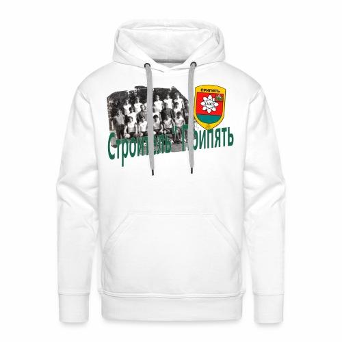 STROITEL 3 - Mannen Premium hoodie