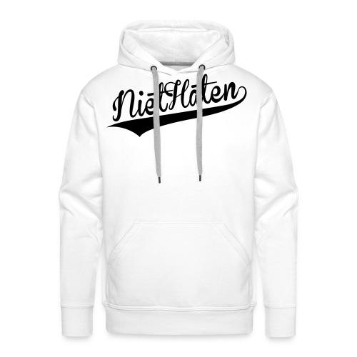 niethaten - Mannen Premium hoodie
