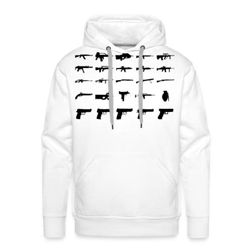Guns - Männer Premium Hoodie
