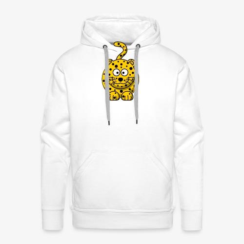 leopard - Felpa con cappuccio premium da uomo