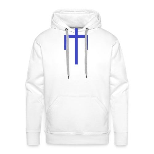 T-shirt Electrikers homme/blanc - Sweat-shirt à capuche Premium pour hommes