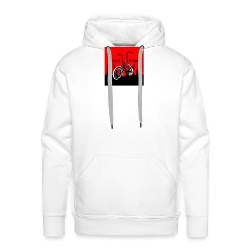 badge002 - Sweat-shirt à capuche Premium pour hommes