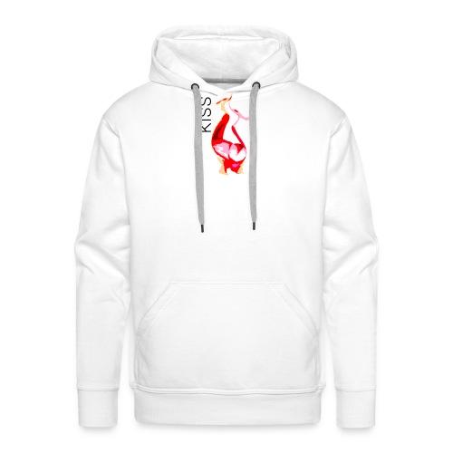 Kiss - Sweat-shirt à capuche Premium pour hommes