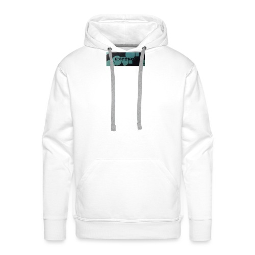Extinct box logo - Men's Premium Hoodie