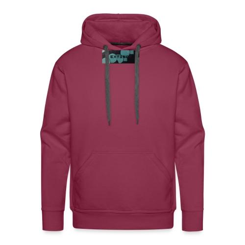 Extinct box logo - Men's Premium Hoodie