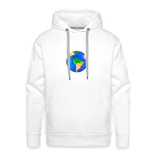 Erde trifft auf Weiß - Männer Premium Hoodie