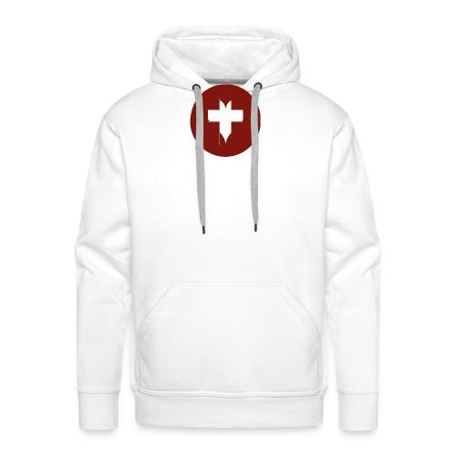 Heart Icon - Men's Premium Hoodie