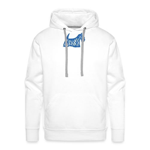 Founded in Scotland logo - Men's Premium Hoodie