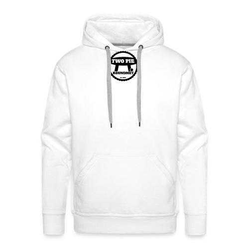 Two_Pie_Logo - Men's Premium Hoodie