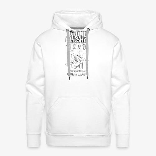 1stcontroled flight - Sweat-shirt à capuche Premium pour hommes