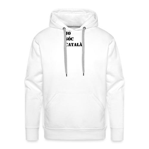 JO SOC CATALA - Sudadera con capucha premium para hombre