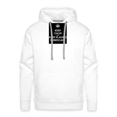keep-calm-and-keep-playing-runescape - Mannen Premium hoodie