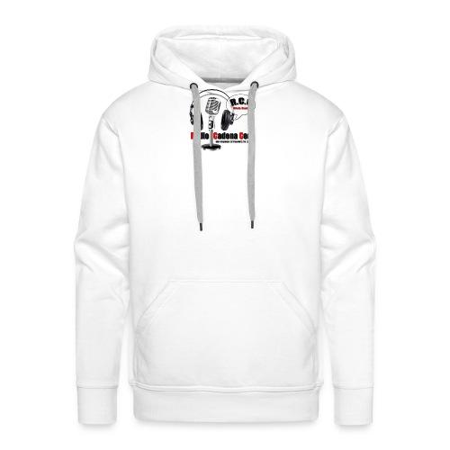 nouveau logo radio - Sweat-shirt à capuche Premium pour hommes