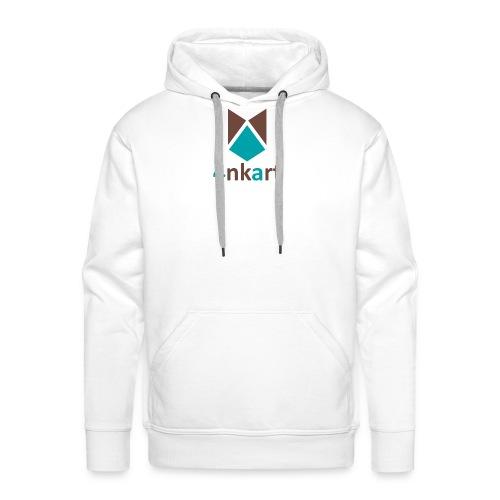 logo 4nkart - Sweat-shirt à capuche Premium pour hommes