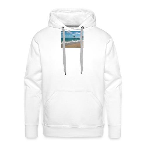 Plage N'Gouja - Sweat-shirt à capuche Premium pour hommes