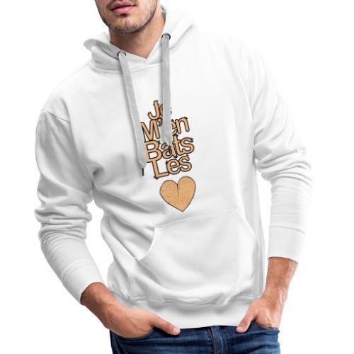 Je M'en bats les couilles V2 - Sweat-shirt à capuche Premium pour hommes