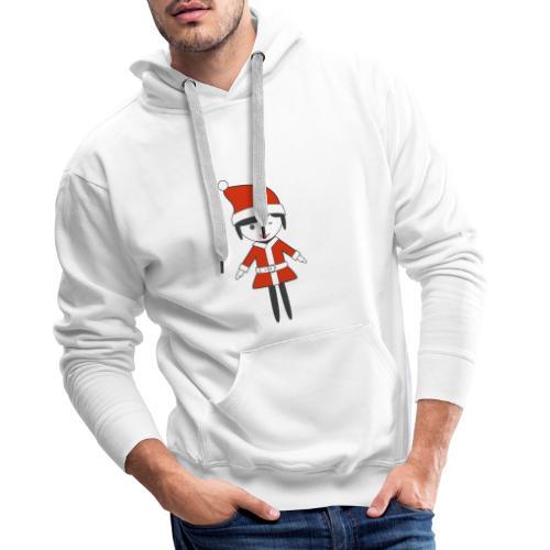 Doctora Retail Navidad - Sudadera con capucha premium para hombre