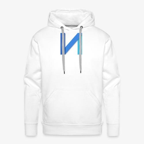 square logo png - Sweat-shirt à capuche Premium pour hommes