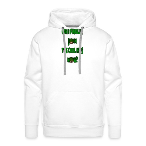Cool Kids White T-Shirt - Men's Premium Hoodie