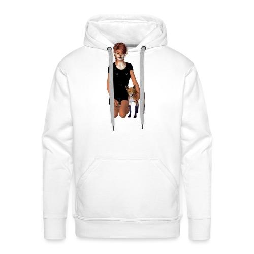 Fox Girl - Männer Premium Hoodie