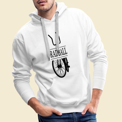 Radball | Retro Black - Männer Premium Hoodie