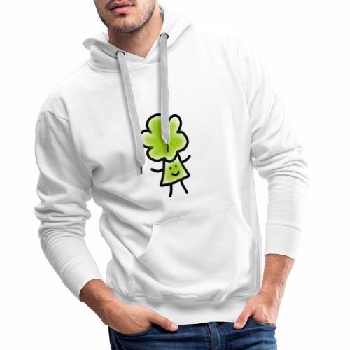 Brocoli Sketch - Men's Premium Hoodie