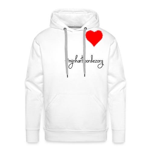 #Mijn Hart Voor De Zorg - Mannen Premium hoodie