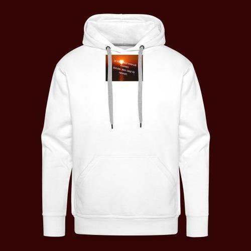 quote1 - Mannen Premium hoodie
