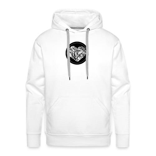 Logo Herzenszeit Neu - Männer Premium Hoodie