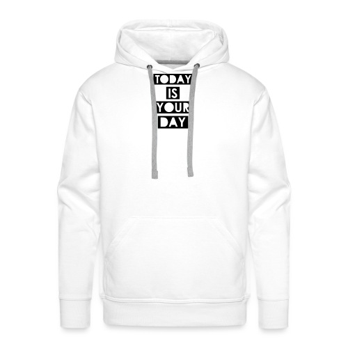 Official Design Kompas Today is your day - Mannen Premium hoodie